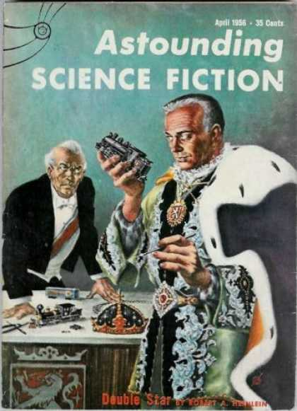 Astounding Stories 305 - King - April 1956 - Sci-fi - Double Star - Heinlein