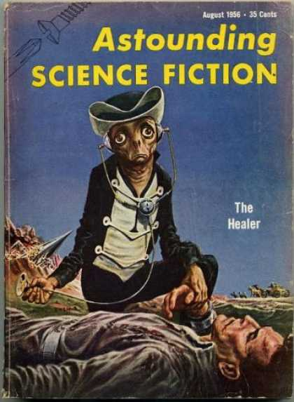 Astounding Stories 309 - Alien - Astounding - Science Fiction - The Healer - Man