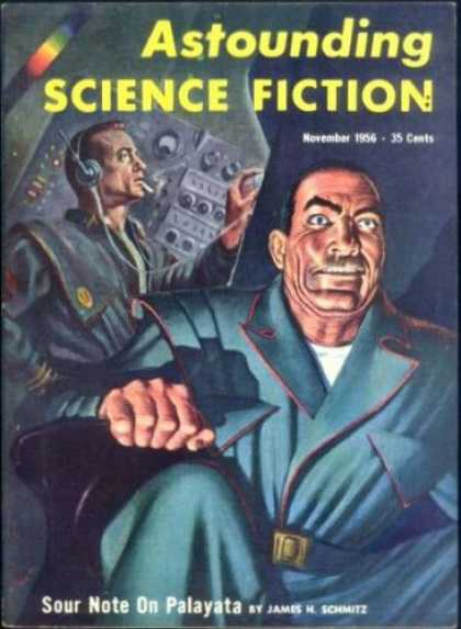 Astounding Stories 312 - Control Panel - Space - Sailing - Smoking - Asitting