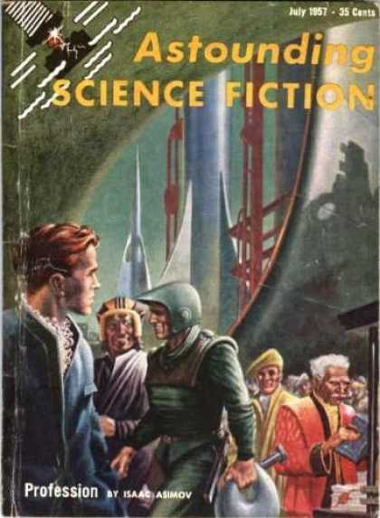 Astounding Stories 320 - Armoured People - Space Ship - Outer Space And People - Scientist - The Inventions