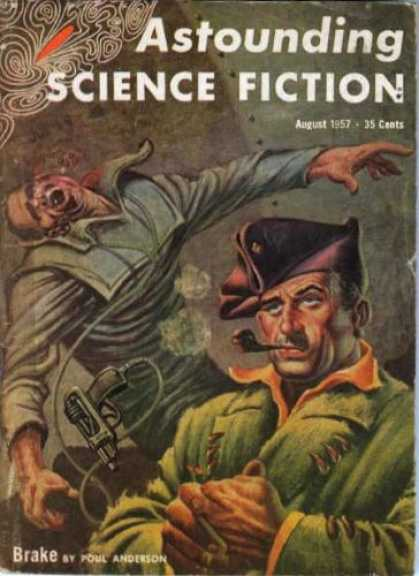 Astounding Stories 321 - Astounding Science Fiction - Science Fiction - August 1957 - Brake - Poul Anderson