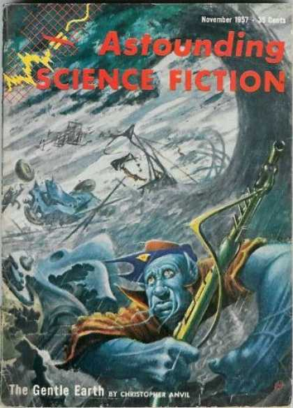 Astounding Stories 324 - Astounding Science Fiction - Science Fiction - November 1957 - The Gentle Earth - Christopher Anvil