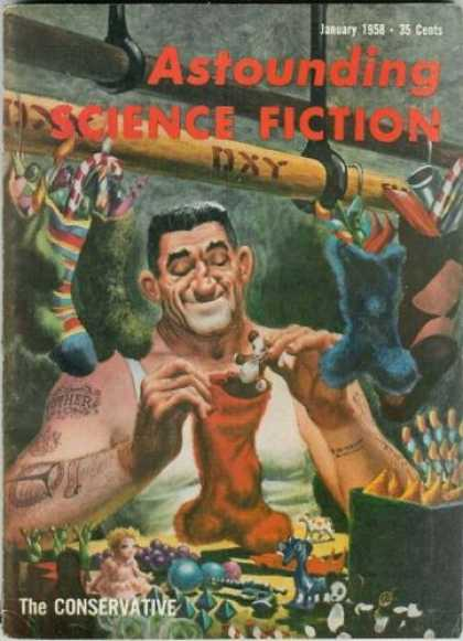 Astounding Stories 326 - Dreaming Of Christmas - Stocking Stuffers - Tough Guy Has Sensitive Side - Candycanes - Picking And Choosing Which Toys To Give To Whom