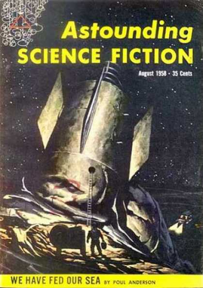 Astounding Stories 333 - Spaceship - Moon - Astronaut - Furtues - Hope For All