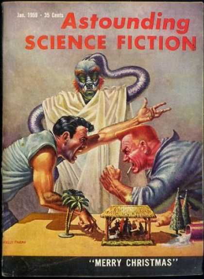 Astounding Stories 338 - Outer Rims Of Galaxy - January 1959 - Science - Amazing Science - Stories From The Beyond