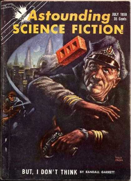 Astounding Stories 344 - July 1959 - Hurled Brick - Garrett - But I Dont Think - 35 Cents