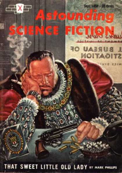 Astounding Stories 346 - Mark Phillips - Gun - That Sweet Little Old Lady - Henry Viii - Anachronism