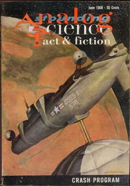 Astounding Stories 355 - Uiverse - Letters - Spaceship - Planet - Stars