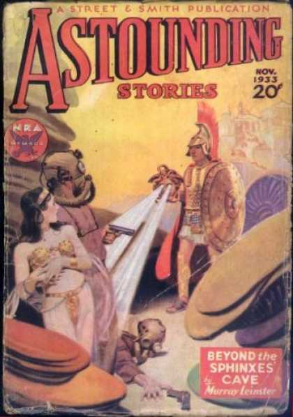 Astounding Stories 36 - Cleopatra - Egypt - Mark Anthony - Rome - Ancient