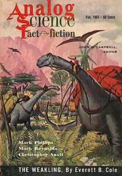 Astounding Stories 363 - Dinosaur - February 1961 - The Weakling - Everett B Cole - Teradactyl