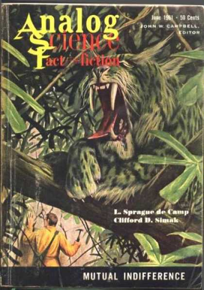 Astounding Stories 367 - Tiger - Jungle - Man - In The Forest - Leaves