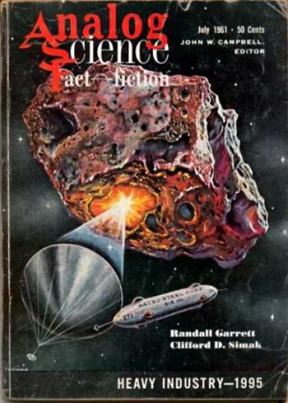 Astounding Stories 368 - Heavy Industry - July 1961 - Meteor - Beam - Space