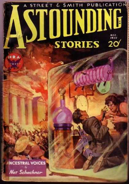 Astounding Stories 37 - Argument - 20 Cents - Grappling - Nra - Self Defence
