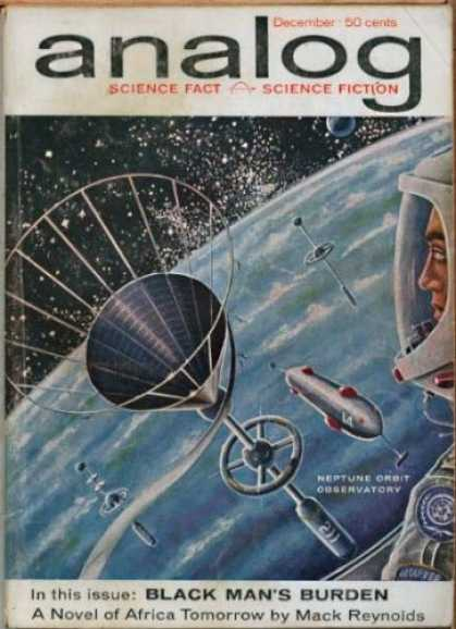 Astounding Stories 373 - Astronaut - Space Station - Funnel - Rocketship - Earth