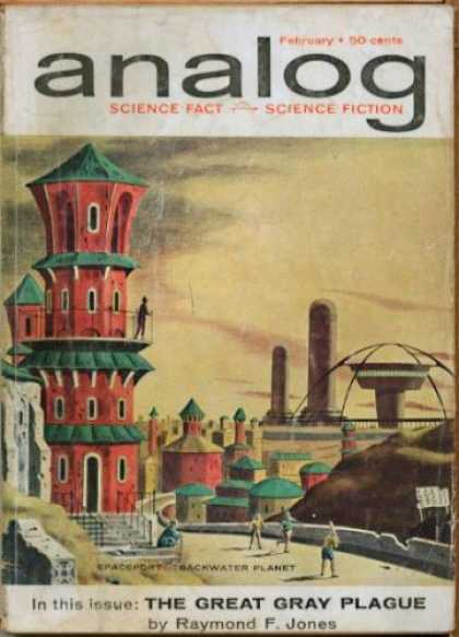 Astounding Stories 375 - February - Science Fiction - Science Fact - The Great Gray Plague - Raymond F Jones