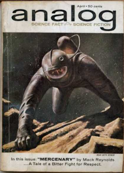 Astounding Stories 377 - Astronaut - Outside World - Trip To Moon - Space Wonders - People In Space