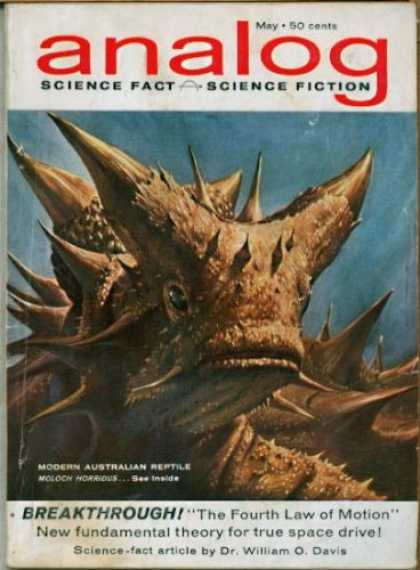 Astounding Stories 378 - May - Modern Australian Reptile - The Fourth Law Of Motion - Dr William O Davis - Space Drive