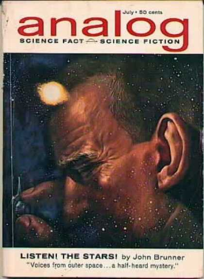 Astounding Stories 380 - Listen The Stars - Outer Space - Space Dust - July - Lock