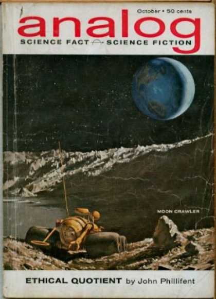Astounding Stories 383 - October - Moon Crawler - Ethical Quotient - John Phillifent - Earth
