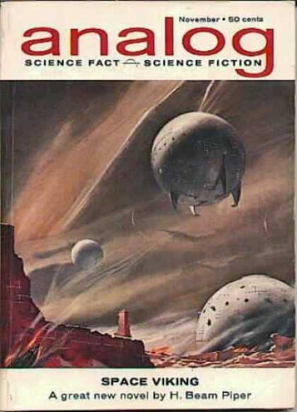 Astounding Stories 384 - Space Vikiing - Novel - H Beam Piper - Space - November