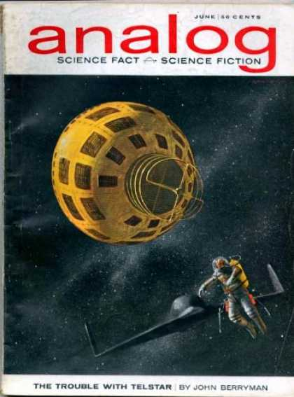 Astounding Stories 391 - Astronaut - Space - The Trouble With Telstar - June - Space Craft