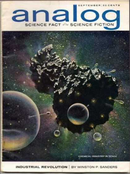 Astounding Stories 394 - Bubbles - Rock - Asteroid - Industrial Revolution - Space