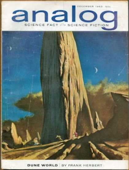 Astounding Stories 397 - Frank Herbert - Dune World - Moon - Desert - December 1963