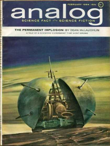 Astounding Stories 399 - Space - February 1964 - Space Craft - Machine - Orb