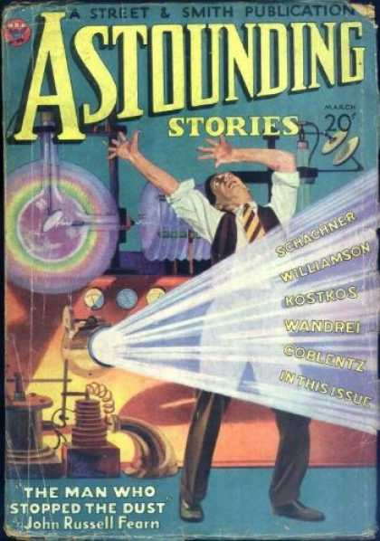 Astounding Stories 40 - Man - Singing - Outerspace - Dance - Shine The Light