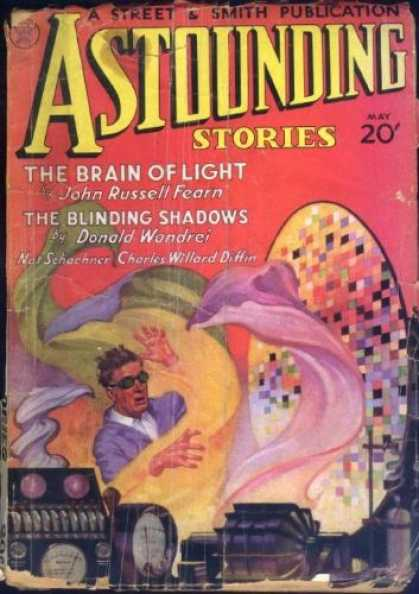 Astounding Stories 42 - The Brain Of Light - The Blinding Of Shadows - Dials - Sheets - Professor