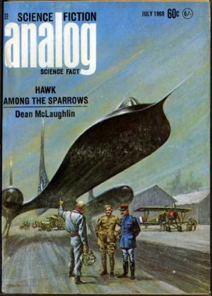 Astounding Stories 452 - Hawk Among The Sparrows - Dean Mclaughlin - Science Fiction - Space - July 1968