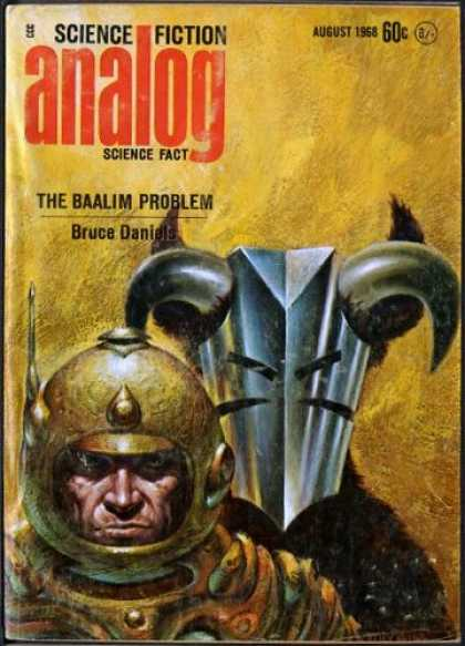 Astounding Stories 453 - Horns - The Baalim Problem - Daniels - August 1968 - Ram Horns