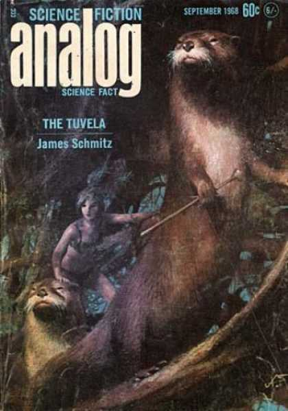 Astounding Stories 454 - Otters - The Tuvela - James Schmitz - September 1968 - Branches