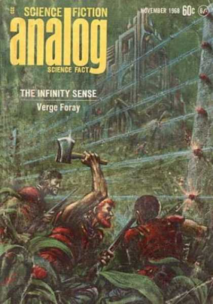 Astounding Stories 456 - November 1968 - Verge Foray - The Infinity Sense - Hatchet - Jungle