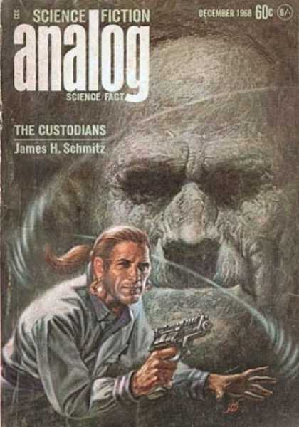 Astounding Stories 457 - Science Fiction Analog - December 1968 - The Custodians - James H Schmitz - Gunman