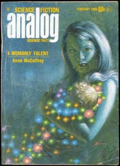 Astounding Stories 459 - Star Child - Star Woman And Child - Nurturing Woman - Parent In Space - Caring For Alien Child