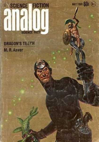 Astounding Stories 462 - Dragons Teeth - M R Anver - May 1969 - Spartan - Gun