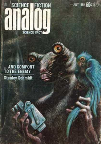 Astounding Stories 464 - July 1969 - And Comfort To The Enemy - Stanley Schmidt - Bird - Alien
