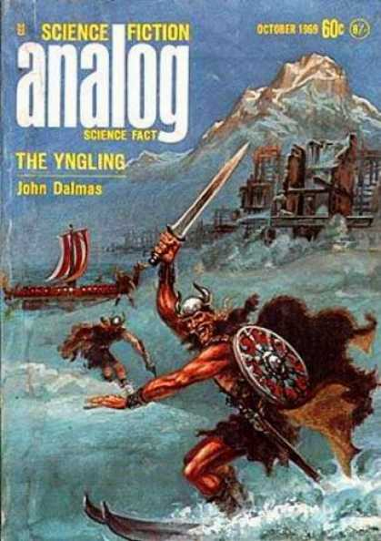 Astounding Stories 467 - October 1969 - The Yngling - Sword - Viking - Water