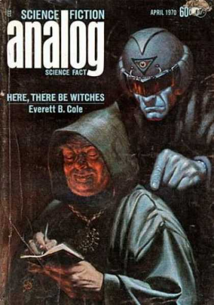 Astounding Stories 473 - Here There Be Witches - Everett B Cole - Witches - Scary - April 1970