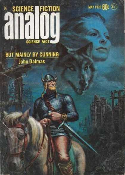 Astounding Stories 474 - Wolf - May 1970 - Science Fiction - But Mainly By Cunning - John Dalmas