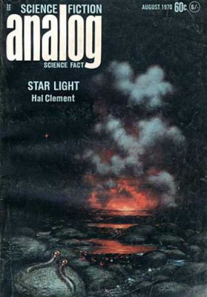 Astounding Stories 477 - Science Ficiton Analog - August 1970 - Star Light - Hal Clement - 60 Cents