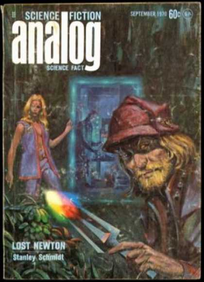 Astounding Stories 478 - Woman - September 1970 - Lost Newton - Pitchfork - Rainbow