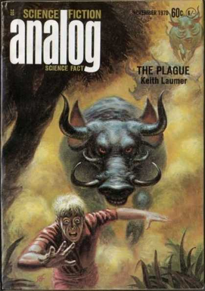 Astounding Stories 480 - The Plague - Laumer - Bulls - Tusks - November 1970