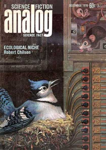 Astounding Stories 481 - Science Fiction - Ecological Niche - Robert Chilson - December 1970 - The Hen And The Rats