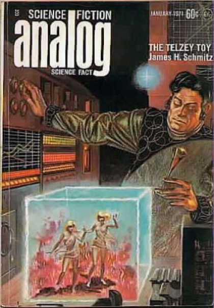 Astounding Stories 482 - Science Fiction Analog - Science Fact - January 1971 - The Telzey Toy - James H Schmitz