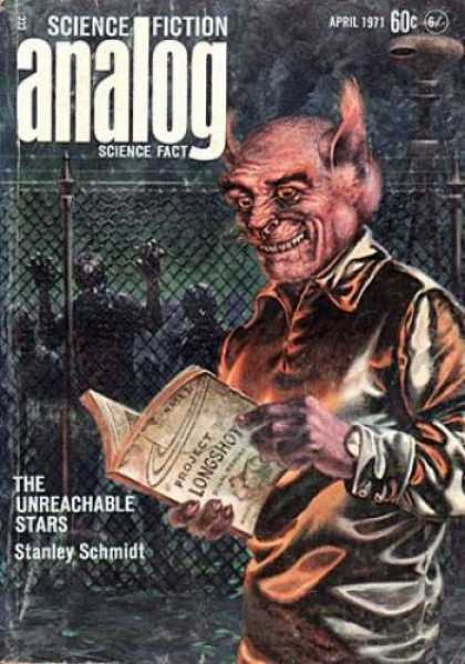 Astounding Stories 485 - Trolls - Captivity - April 1971 - Big Ears - The Cages That Seperate
