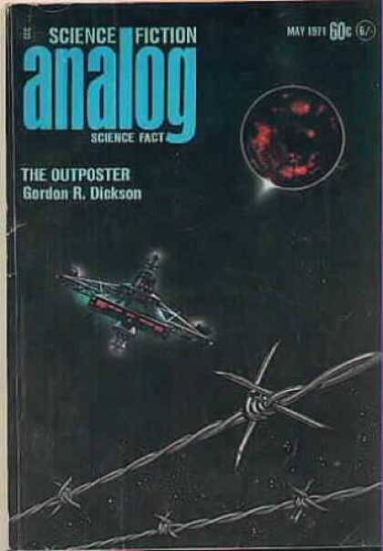 Astounding Stories 486 - May 1971 - Analog - Science Fiction - The Outposter - Gordon R Dickson