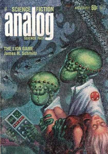 Astounding Stories 489 - Alian - Medics - Dead Human - Monster Shadow - Hand-held Computer