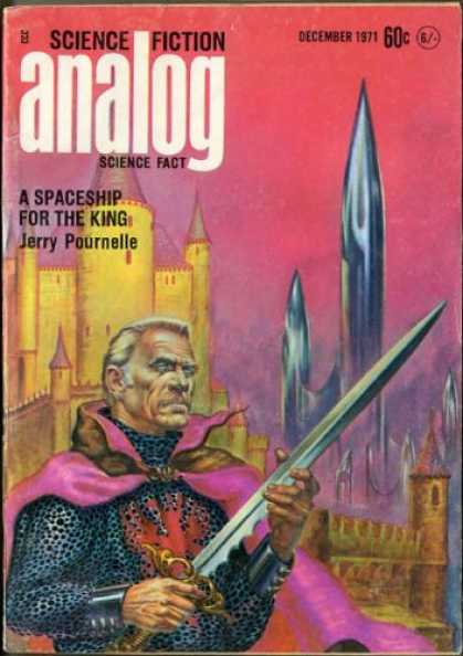 Astounding Stories 493 - Castle - Sword - December 1971 - A Spaceship For The King - Royal Robe